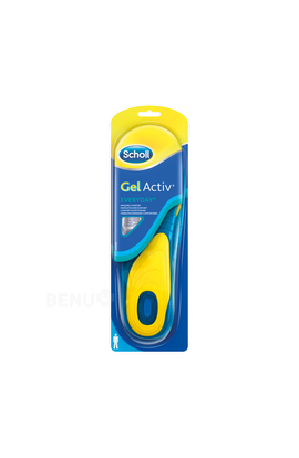 Reckitt Benckiser Scholl Gel Insoles Work - Men