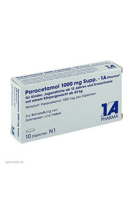 1A Pharma, Paracetamol 1000mg, 10 PCs