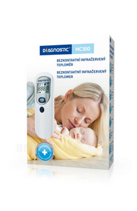 BIOTTER PHARMA Biotter thermometer contactless infrared. NC300 1pc