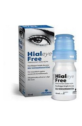 ADAMED, HIALEYE FREE 0,2%, 10 ML
