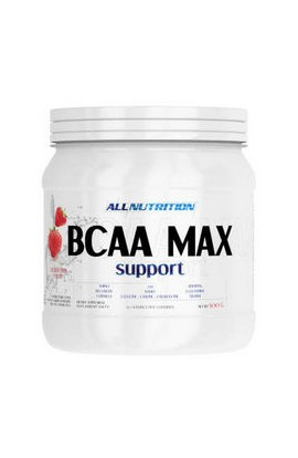 "ALLNUTRITION, BCAA Макс ""Клубника"", BCAA Max Support Strawberry, 500g"