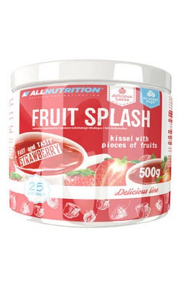 "ALLNUTRITION, Фрут Сплеш ""Клубника"", Fruit Splash strawberry, 500g"