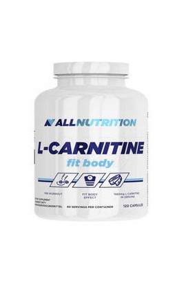 ALLNUTRITION, L-карнитин, L-Carnitine Fit Body, 120 шт