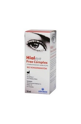 Adamed, Hialeye Free Complex, 10ml