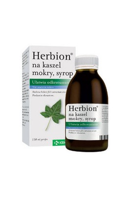 Krka, Гербион ОТ МОКРОГО КАШЛЯ, HERBION FOR WET COUGH, 150ml