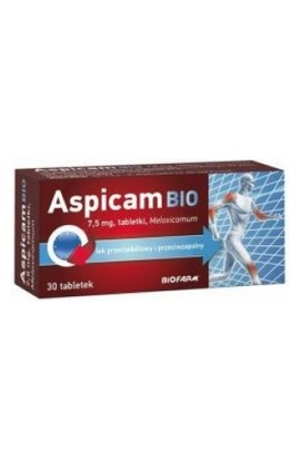 Biofarm, ASPICAM BIO 7,5mg, 10 PCs