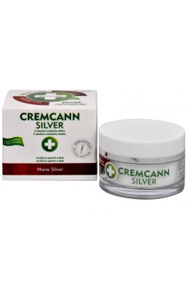 Cremcann Silver - cannabis cream for skin and natural acne 15 ml