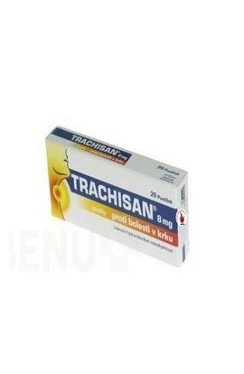 MEDINDEX, TRACHISAN 8 MG AGAINST BOLESTI IN CRYSTAL 8MG lozenge 20, 1pcs