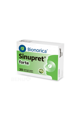 Bionorica SE, SINUPRET FORTE coated tablets 20, 1 pcs