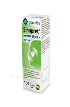 Bionorica SE, SINUPRET oral GTT SOL 100ML, 1 pcs