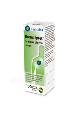 Alliance Healthcare, BRONCHIPRET TYMIAN AND BREED 1X100ML syrup, 1 pcs