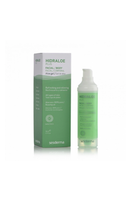 Sesderma, Hidraloe Plus, Aloe Gel Skin Regeneration, 50ml
