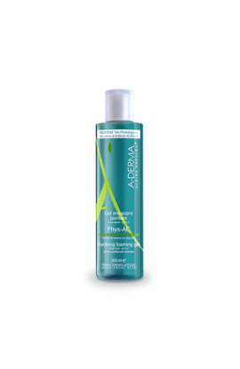 A-Derma, Phys-AC cleansing foaming gel for problematic skin, 200ml