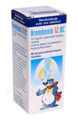 Berlin-Chemie, BROMHEXIN BERLIN-CHEMIE 12MG / ML Oral GTT SOL 30ML, 1 pcs