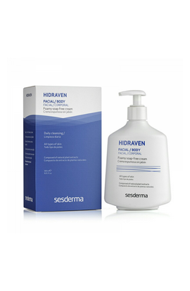 Sesderma,  Hidraven, Foamy Soapless Cream, 300 ml