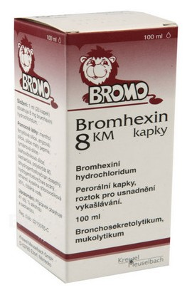 Krewel Meuselbach, BROMHEXIN 8 KM HAPPY 8MG / ML Oral GTT SOL 1X100ML, 1 pcs