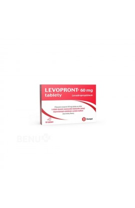 Angelini Pharma, LEVOPRONT 60MG uncoated tablets 10, 1 pcs
