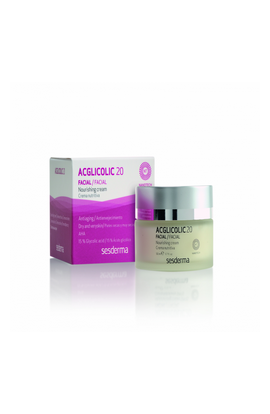 Sesderma, Acglicolic 20, Nourishing Cream,  50 ml