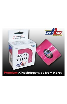 BB Tape Kinesiological tissue - 5m x 5cm pink