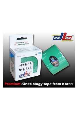 BB Tape Kinesiological tissue - 5m x 5cm green