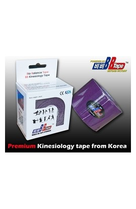 BB Tape Kinesiological tissue - 5m x 5cm purple