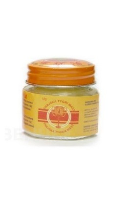 ALFA VITA, Thai Tiger Ointment Golden Cup Balm 12g, 1 pcs