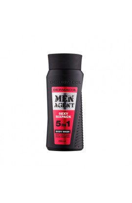Dermacol, Men Agent Sexy Sixpack,shower gel 5 in 1,250 ml