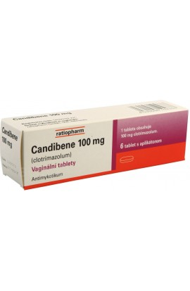 Merckle, Candibene 100 мг vag.tbl.6x100mg