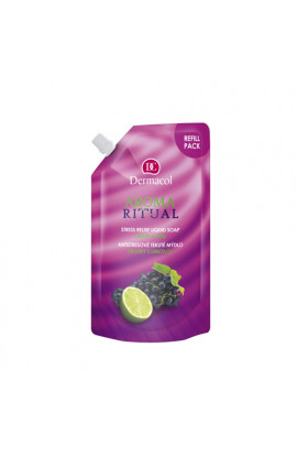 Dermacol, Aroma Ritual, anti-stress liquid soap,  grapes and limes, 500 ml