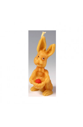 Pleva,Bee Wax Candle Pleva - Hare with a Hassle