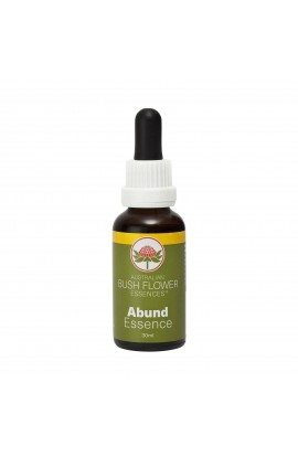 "AUSTRALIAN BUSH FLOWER ESSENCES, THE COMBINED ESSENCE OF ""ABUND"", 30 ML"