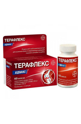 Bayer, Терафлекс Адванс, Theraflex Advance, 60 шт