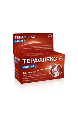 Bayer, Терафлекс Адванс, Theraflex Advance, 120 шт