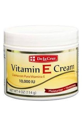 De La Cruz, Витамин Е, Vitamin E Cream, 10,000 IU, 114 g