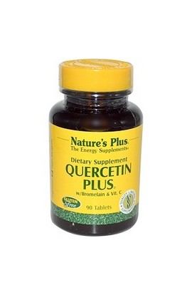 Nature's Plus, КВЕРЦЕТИН Плюс, Quercetin Plus, 90 шт