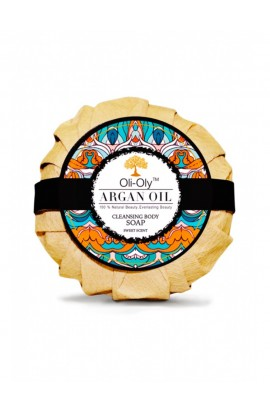 "Soap on the body With argan oil ""Sweet"" 100g OLI-OLY"