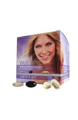 WELLNESS, Вэлнэс Пэк для женщин, Wellness Pack for Women, 21 шт