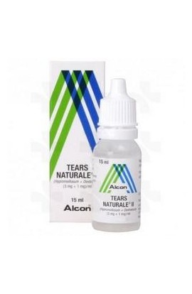 Alcon, Слеза натуральная, Tears naturale, 15 ml
