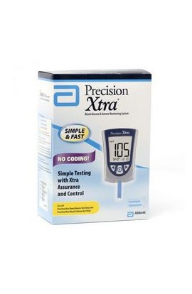 Abbott, Глюкометр, Precision Xtra Blood Glucose & Ketone Monitoring System, 1 шт