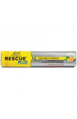 BACH, RESCUE Plus candies (orange and elderberry) 42 g